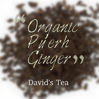 Organic Pu'erh Ginger Tea Review