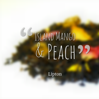 Island Mango & Peach White Tea Review