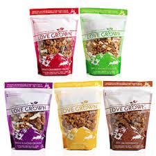 healthyy granola: LGF oat clusters