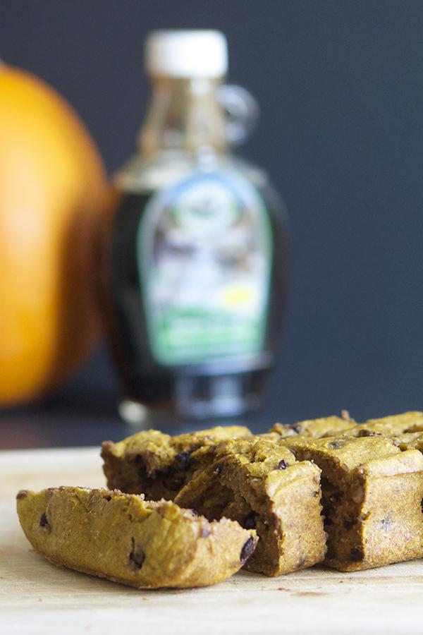 Pumpkin Pancake Loaf via @ExSloth | ExSloth.com