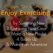 5 Simple Tip yo help you Enjoy Exercising | ExSloth.com