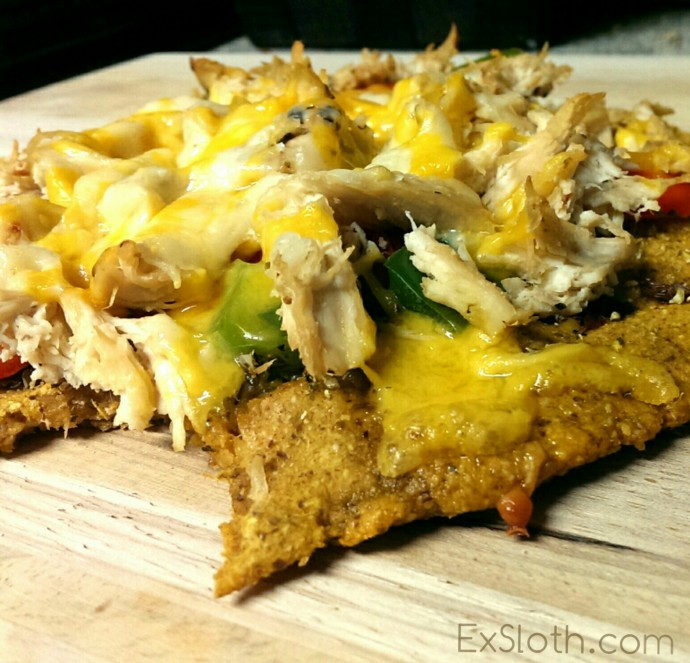 Vegan, GF, Sweet Potato Pizza Crust | ExSloth.com