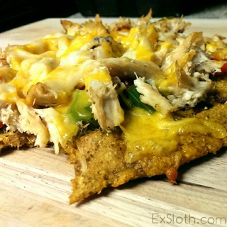 Sweet Potato Pizza Crust Recipe {Vegan, GF}