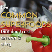 5 common, inexpensive superfoods you probably eat often via @ExSloth | ExSloth.com