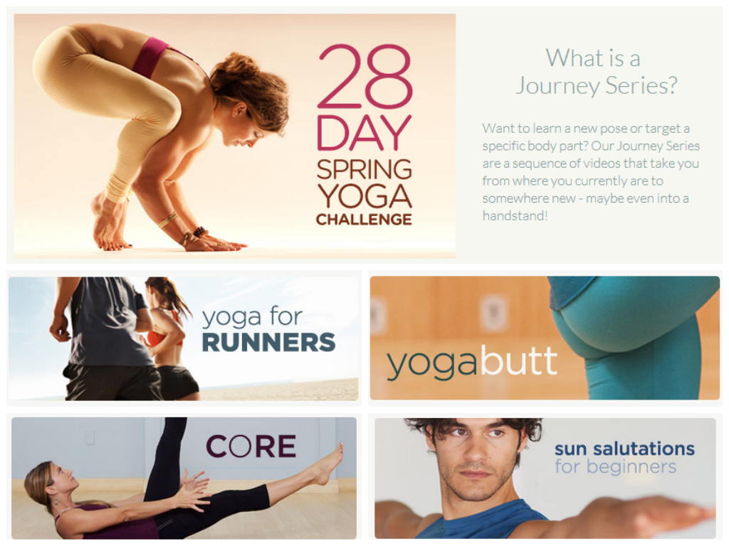 MyYogaWorks Journey Series
