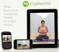 At Home Yoga with MyYogaWorks {Review & Discount}