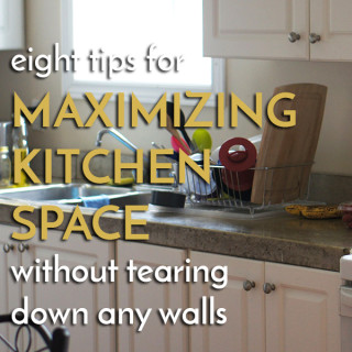 Make the most of Limited Kitchen Space