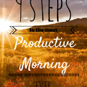 9 Ways to have the most Productive Morning Ever via @ExSloth | ExSloth.com