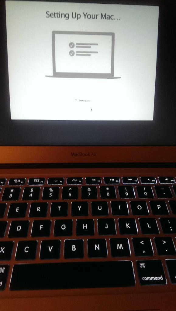 My new Mac