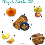 Things to Eat this Fall via @ExSloth | ExSloth.com