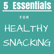 5 healthy snacking essentials via @ExSloth | ExSloth.com