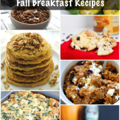25 Deliciously Healthy Fall Breakfast Recipes via @ExSloth | ExSloth.com
