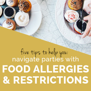 5 Tips for dealing with Dietary Restrictions at Holiday Parties