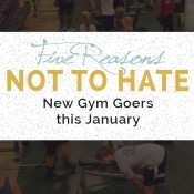 Yes, it's gonna be a little busier, but here are 5 Reasons NOT to hate new gym goers this January via @ExSloth   ExSloth.com