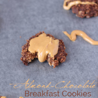 Almond-Chocolate Breakfast Cookies