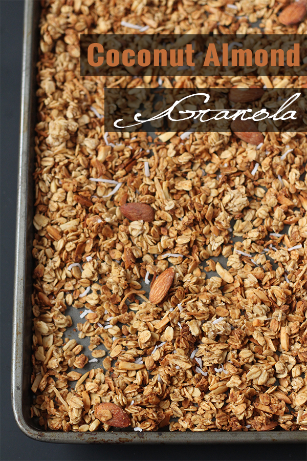 Coconut Almond Granola1