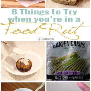 Getting out of a Food Rut