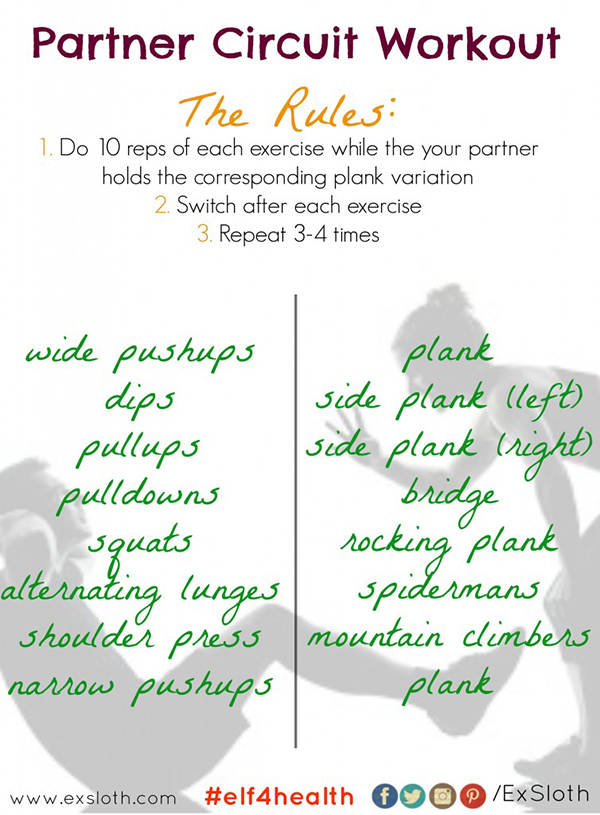 partner circuit workout