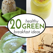 Healthy Green Breakfast Recipes Roundup2
