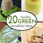 Healthy Green Breakfast Recipes Roundup2