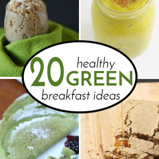 20 Healthy Green Breakfast Recipes For St. Patty's