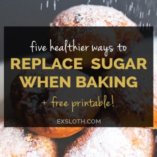 5 Tips for Replacing Sugar when Baking