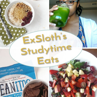 WIAW – Study time edition + Green Blender Juice