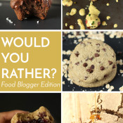 Choose your favourite foods in this Food Fight edition of Would you Rather? via @ExSloth | ExSloth.com