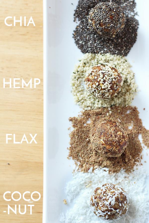Vegan, Dairy Free, Refine Sugar Free, Nut Free Coconut Date Energy Balls via @ExSloth | ExSloth.com