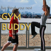 5 tips for choosing a workout buddy via @ExSloth | ExSloth.com