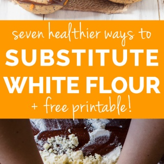 How to Replace White Flour when Baking