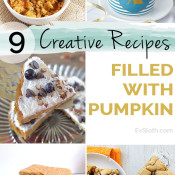 creative pumpkin filled recipes from #pumpkinweek2015 via @ExSloth | ExSloth.com