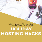 five actually useful hacks for hosting holiday parties via @ExSloth | ExSloth.com