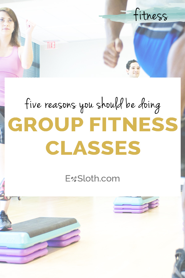 5 reasons you should add group fitness classes to your workout schedule via @ExSloth | ExSloth.com