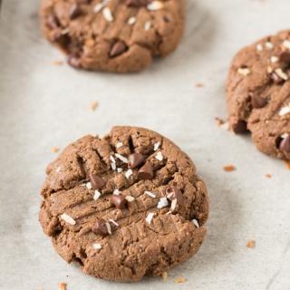Paleo Vegan Nut Free Brownie Cookies