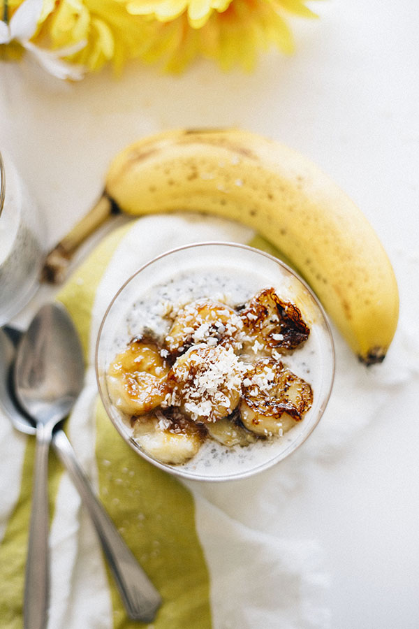 Toasted Coconut Chia Pudding