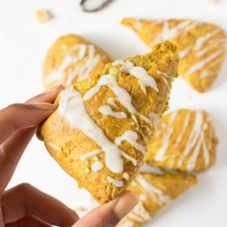 Vegan Coconut Ginger Golden Milk Scones