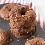 Vegan Baked Butternut Squash Donuts