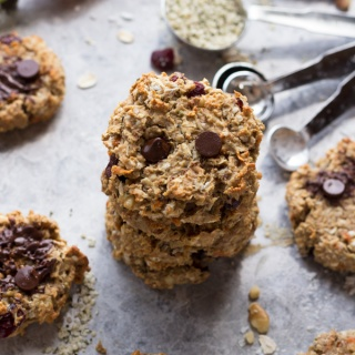 Everything vegan breakfast cookies