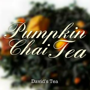 Pumpkin Chai Tea