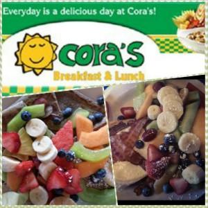 birthday lunch at cora