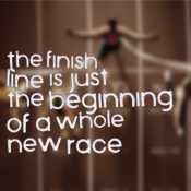 Fitspiration: beginning of a while new race; goals