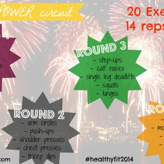 2014 POWER circuit workout & Goodbye 2013