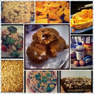 cooking & baking collage