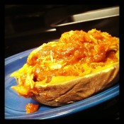 chicken marinara sweet potatoes