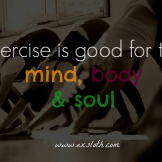 Exercise for the Soul & Weekly Goals