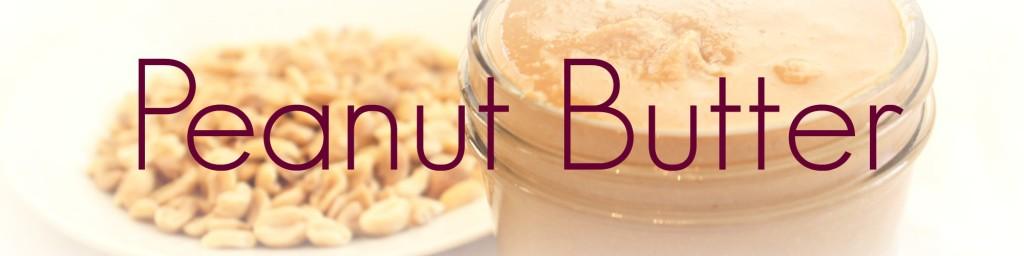 peanut butter heading