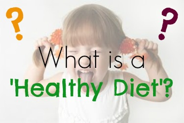 what is a healthy diet | ExSloth.com
