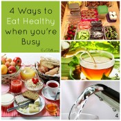 4 ways to eat healthy when you're busy | ExSloth.com