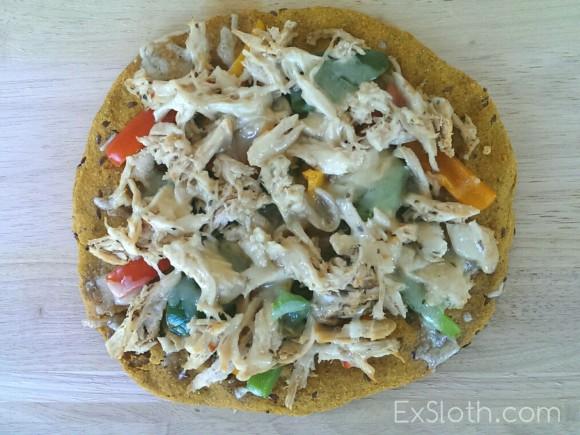 Sweet Potato Pizza Crust Recipe | ExSloth.com